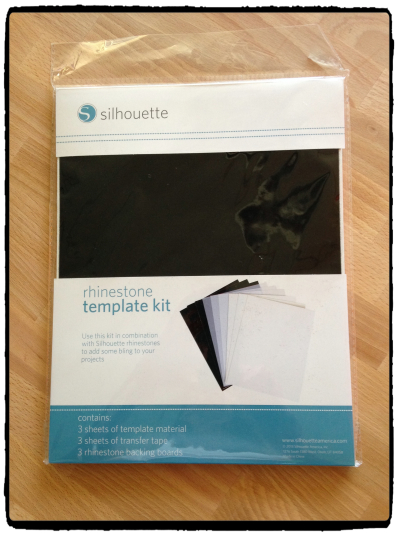 How to cut rhinestone templates using the Silhouette Cameo