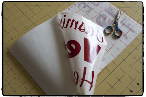 Using Silhouette Transfer Paper
