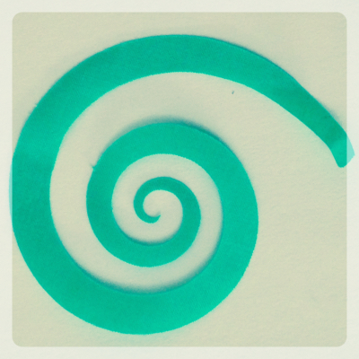 Cutting a Spiral with the Silhouette Cameo
