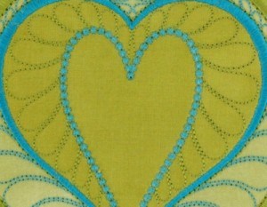 Feathered Heart by Sarah Vedeler Designs