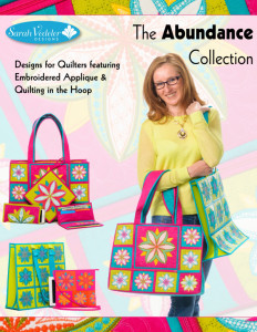 The Abundance Collection - Machine Embroidered Applique and Quilting in the Hoop
