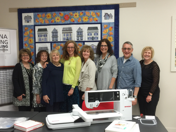 The Sterling Team at BERNINA