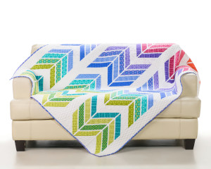 Jelly Roll Zig Zag Quilt by Sarah Vedeler Designs
