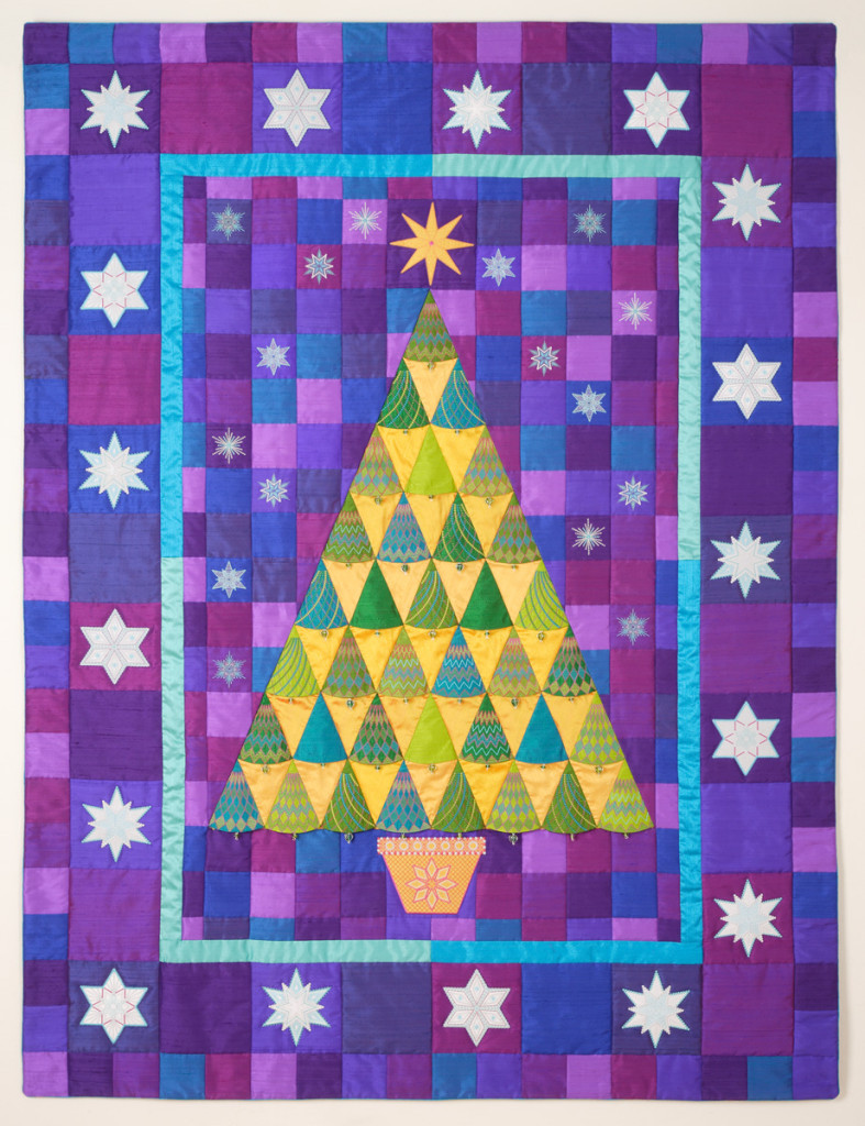 Sparkle Tree Quilt by Sarah Vedeler Designs