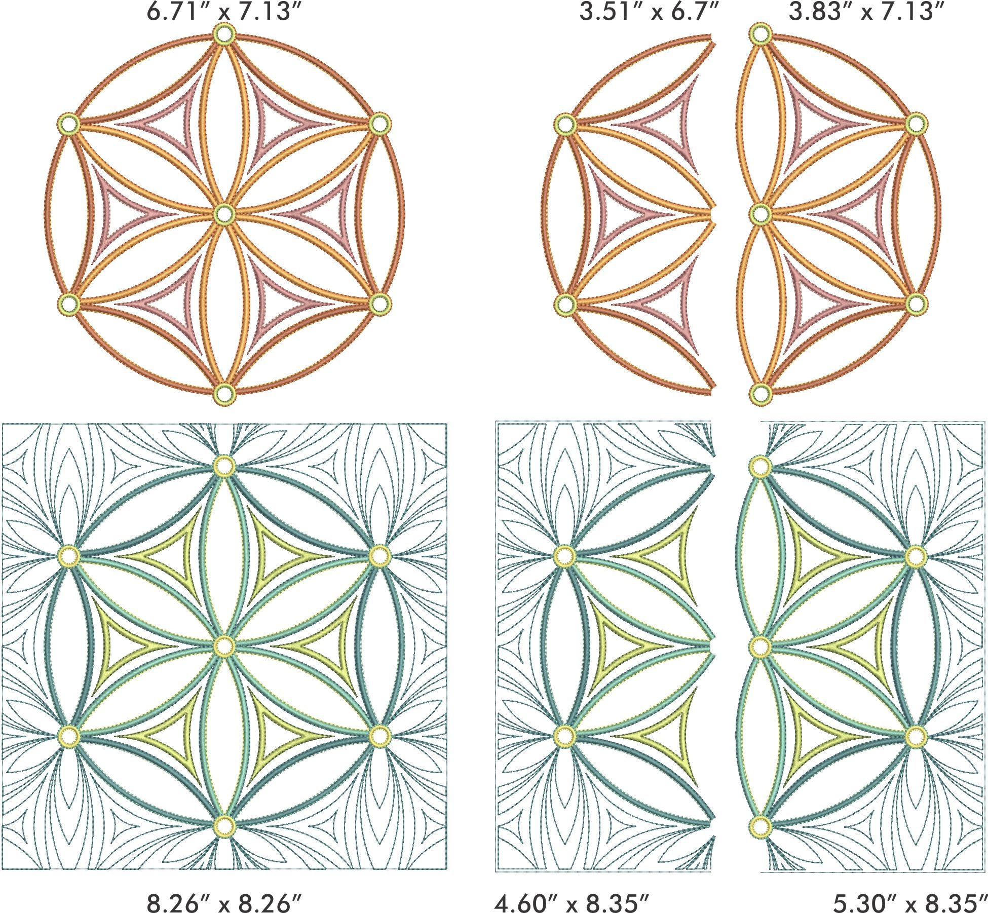 Flower of Life Collection by Sarah Vedeler Designs