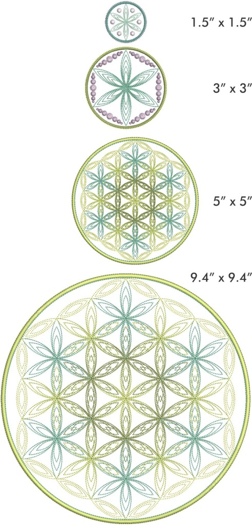 Flower of Life Circles