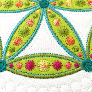 "6"" Flower of Life Block by Sarah Vedeler Designs"