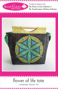 Flower of Life Tote, a Fresh Ideas Pattern
