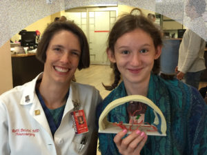 Heather and Dr. Bristol