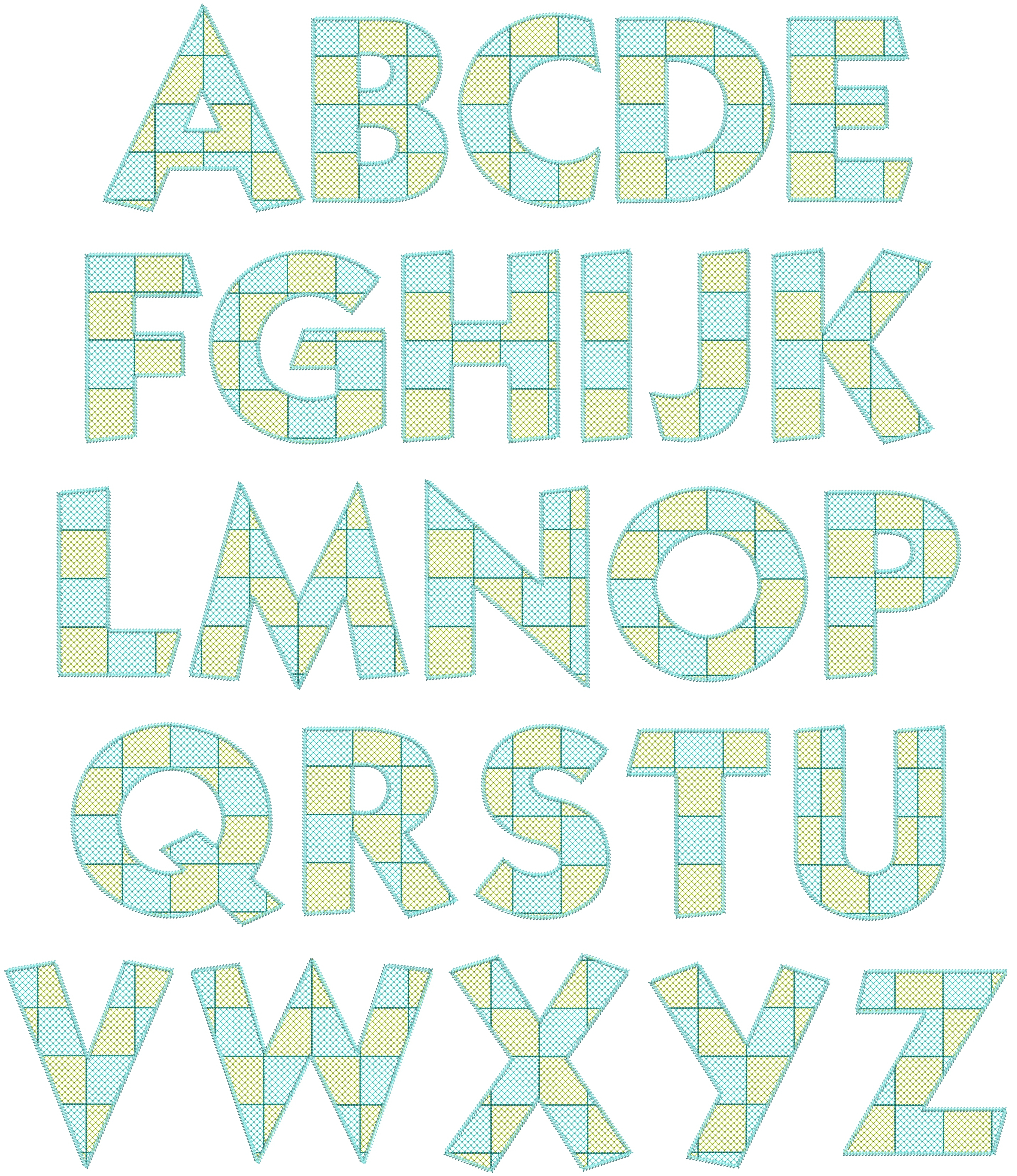 5i Uppercase Letters