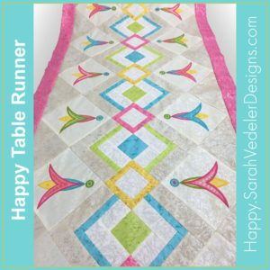 Happy Table Runner