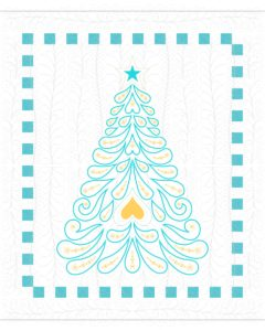 How to Quilt Feathered Christmas