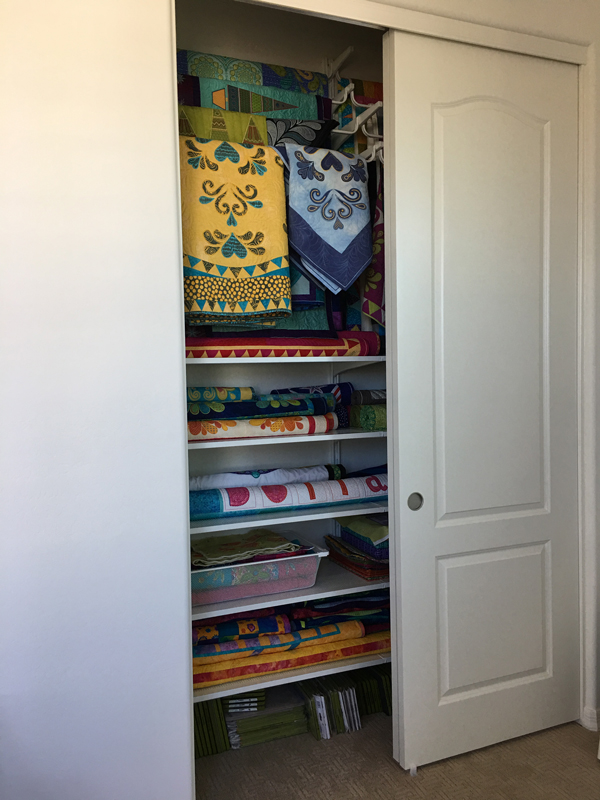 Charming IKEA ALGOT Rails For Hanging Quilts