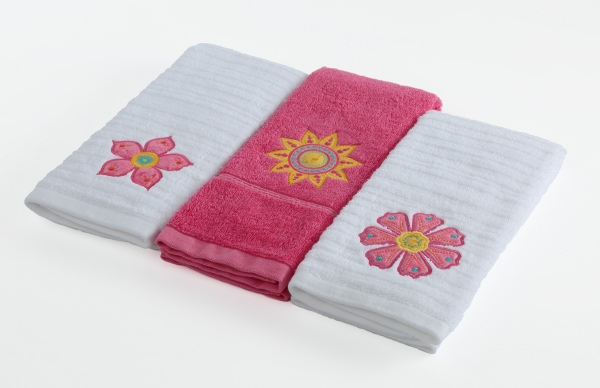 Petal Power Towels