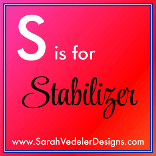 S is for Stabilizer